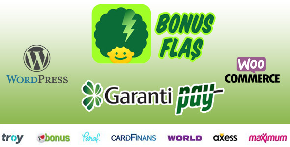 GarantiPay Payment Gateway for WooCommerce (Gateways)