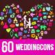 JI-Wedding (60 Icons)