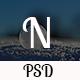 Nandine Portfolio One Page PSD Template