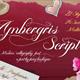 Ambergris - Script Font