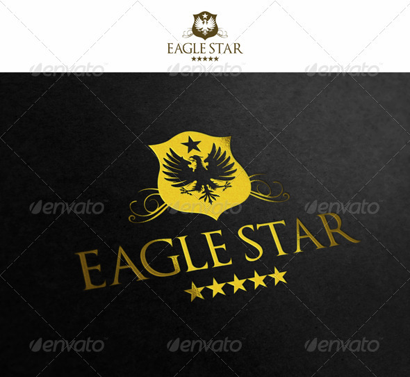 Eagle Star - Crests Logo Templates