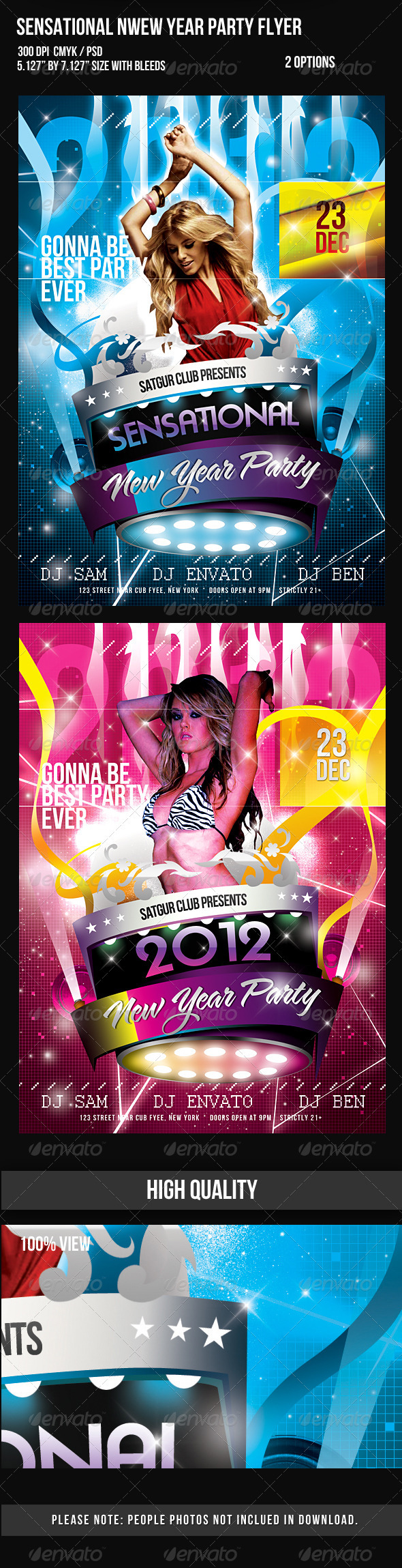 2012 Sensational New Year Dance Music Party Night - Clubs & Parties Events