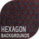 6 Hexagon Backgrounds