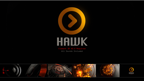 Videohive - Hawk Logo 19866869 - Free Download