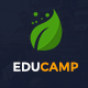 EduCamp - Education & Online Learning PSD Template
