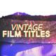 70's Film Trailer