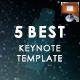 5 in 1 Keynote Template Bundle