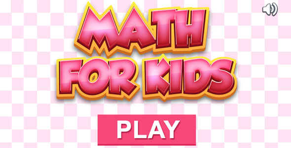 Download Math for Kids - HTML5 Educational Game (CAPX included)