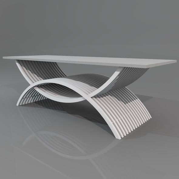 3DOcean Coffee Table 19868589