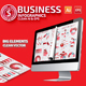 Red Business Infographics Design