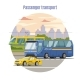 Urban Public Passenger Vehicles Template