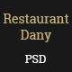 Restaurant Dany-PSD Template