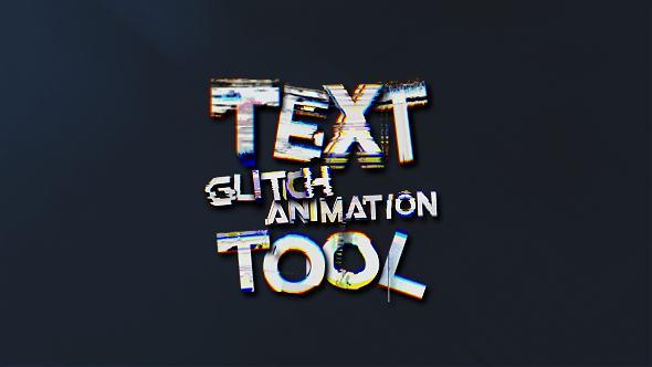 VideoHive Glitchify Text Animation Tool For Glitch Effects 19869942