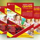 Kids Care Service Flyer