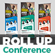 Conference Roll-Up Banner Template