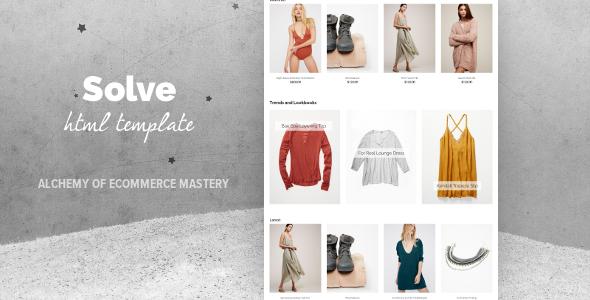 Solve - Multipurpose eCommerce Template