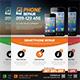 Smartphone Repair Flyer Templates