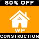 Construct - Construction Renovation Building Business WordPress Theme