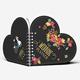 Heart Shape Notebook Mockups