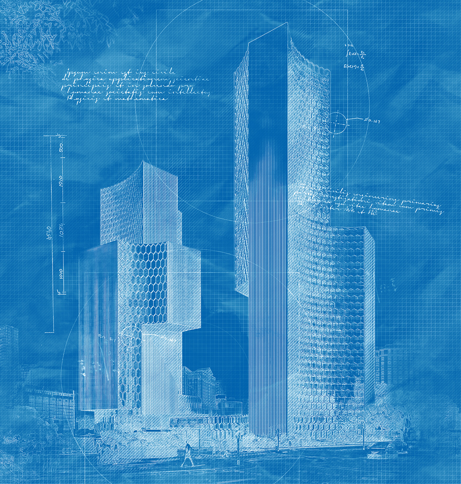 Architecture sketch and blueprint photoshop action graphit architecture sketch and blueprint photoshop action malvernweather Image collections