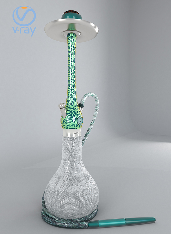 3DOcean chicha smoke decor 19872478