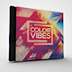 Color Vibes CD/DVD Template