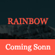 Rainbow - Coming Soon Template
