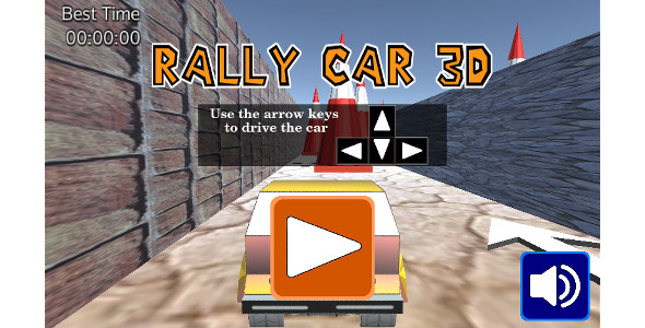 Rally Car 3D WebGL-Html5 - CodeCanyon Item for Sale