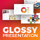 Glossy PowerPoint Template