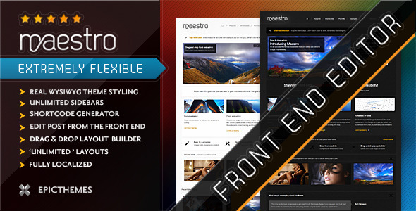 Maestro WordPress Theme