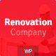 Renovation Company - Construction and Building WordPress Theme