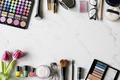 Woman Cosmetics Makeup Beauty Feminine