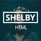 Shelby - Personal Portfolio Template