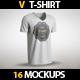 V T-Shirt MockUp