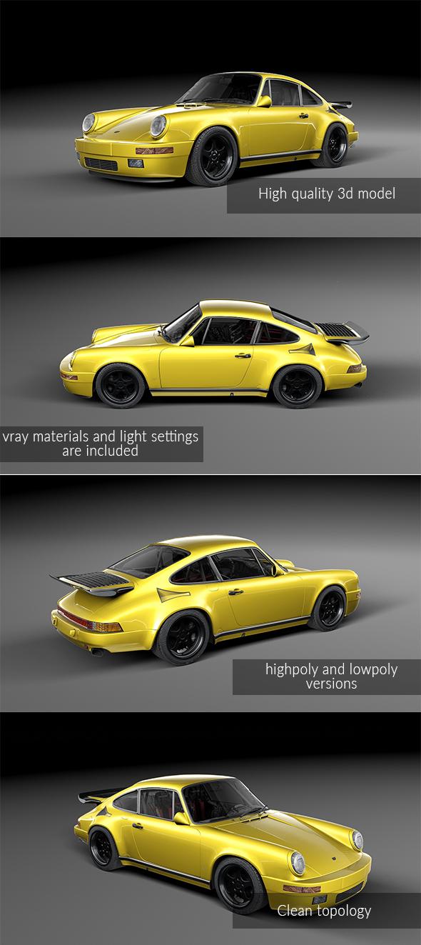 RUF CTR Yellowbird - 3DOcean Item for Sale