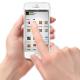 Smartphone in Hand Mock-up