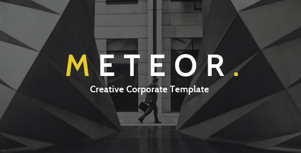 Meteor Creative Corporate HTML Template