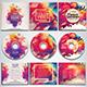 Colorful CD/DVD Album Covers Bundle Vol. 4