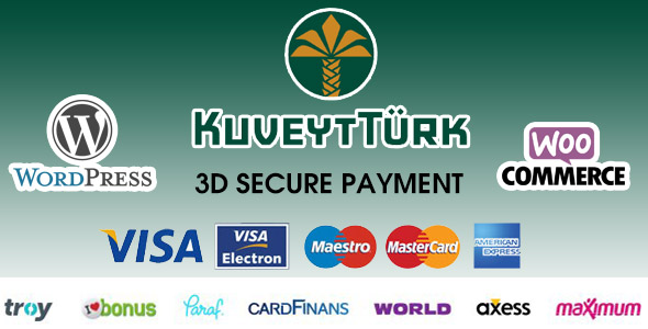 Kuveyt Türk 3D Virtual POS Gateway for WooCommerce (Gateways)
