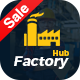 Factory HUB - Industrial Business WordPress Theme