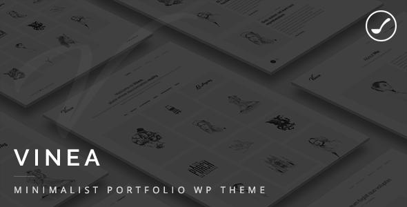 Vinea - Minimalist Freelance And Agency Portfolio WP Theme