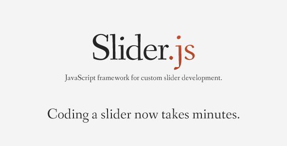 CodeCanyon Slider.js JS framework for slider development 1617841
