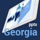 Georgia Powerpoint template