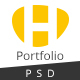 HUNT-Personal Portfolio PSD