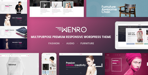 Wenro - Multipurpose WooCommerce WordPress Theme