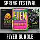 Spring Festival Flyer Bundle