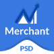 Merchant - Business, Finance & Corporate PSD Template