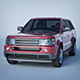Vray Ready Range Rover Car