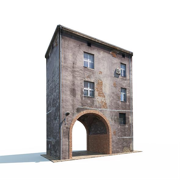 3DOcean Apartment House 163 19882809