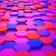 Animated Colored Hexagons